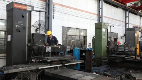 汉川jrs直播直播川-机台型号T611C413-卧式镗床-加工范围:1800x1200